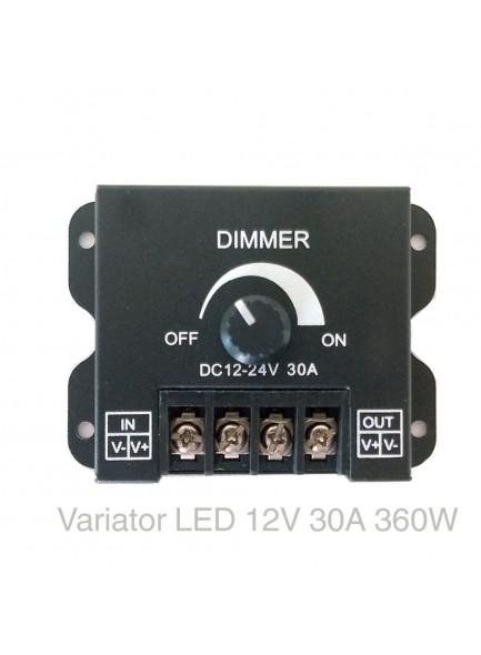 dimmer banda led 12V 30A