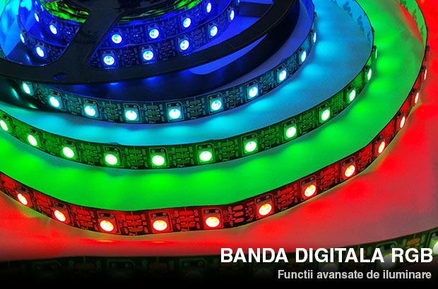 banda digitala led